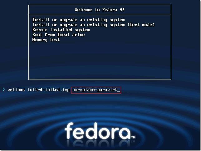 o_Fedora9-noreplace-paravirt